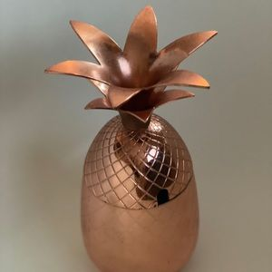 Solid Copper Pineapple Tumbler / Mug
